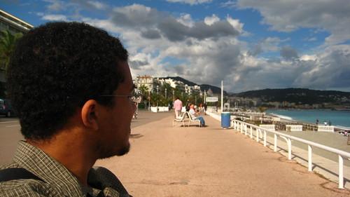 P & the beach