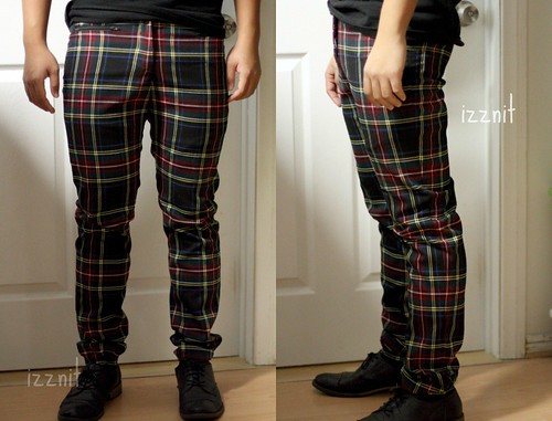 I Made Plaid Pants