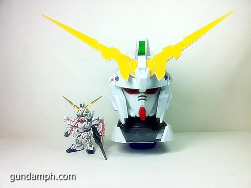 Banpresto Gundam Unicorn Head Display  Unboxing  Review (54)