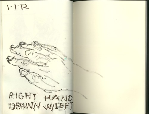 right hand drawn left by jmignault