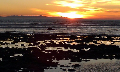 Low tide sunset 11-26-11