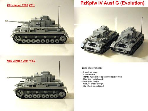 Nueva versión del PzKfpw IV Ausf. G de Panzerbricks