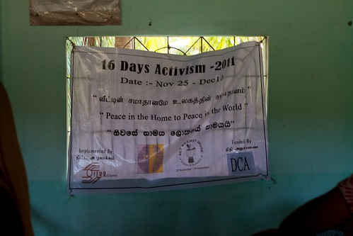 16 days of activism against gender violence