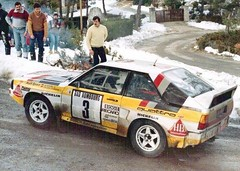 Audi QuattroA2 - Montecarlo 1985