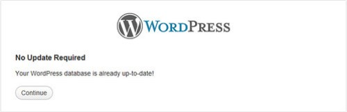 Đồng bộ database với wordpress new version