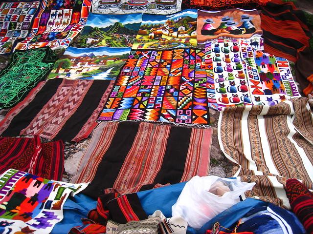 Los coloridos tapices siempre me llaman la atención