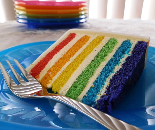 Cake Recipe Rainbow Cake Recipe From Scratch