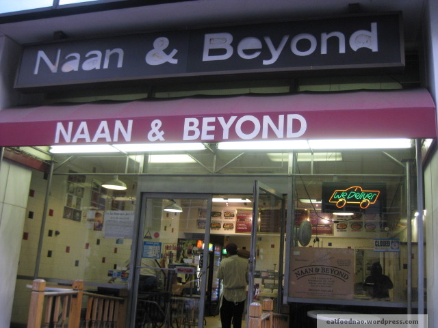 Naan and beyond sign