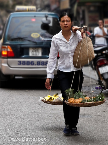 Fruit Seller in Old Hanoi