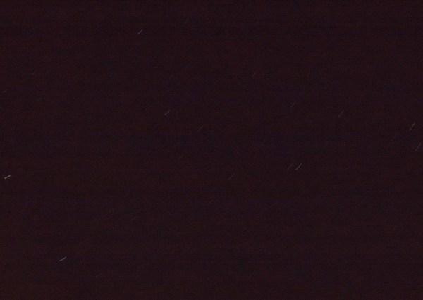 Ciel de nuit 180 secondes