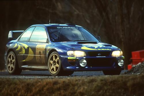 Subaru Impreza WRC - Montecarlo 1998