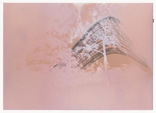 Pinhole camera 1 photo paper - raw scan