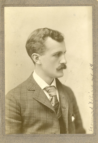 Howard Forrer Peirce at age 34 [33] (ca. 1899)