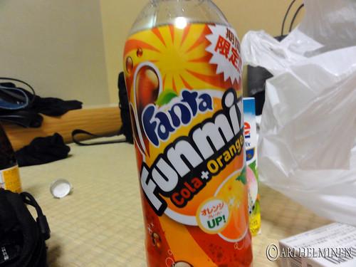 Delicious fanta.. NOT