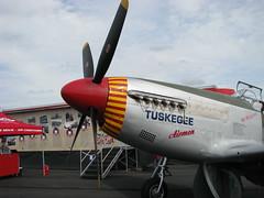 Tuskagee Airmen P-51 Mustang