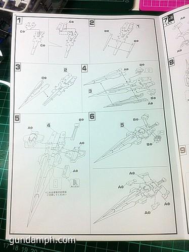 GN Sword 4 IV Full Saber QuanT 1-100 BTF Coversion Kit Unboxing (24)