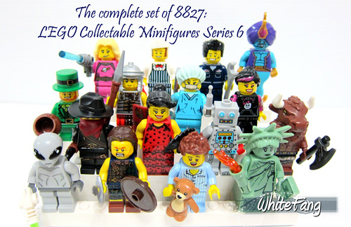 Let's start our New Year by completing a set of 16 unique minifigures in Series 6!