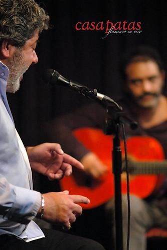 Guadiana y Paquete a la guitarra. Foto: Martín Guerrero
