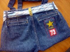 Jeans bag back