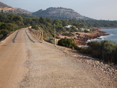 Los paisajes de la vía verde Oropesa - Benicassim
