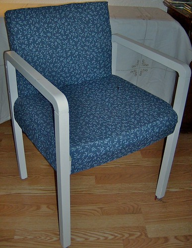 Finished chair 1