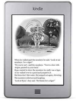 Ryan the Lion on the Kindle