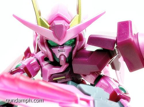 SD Gundam Online Capsule Fighter Trans Am 00 Raiser Rare Color Version Toy Figure Unboxing Review (66)