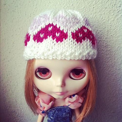Hearts queen II - hat for blythe