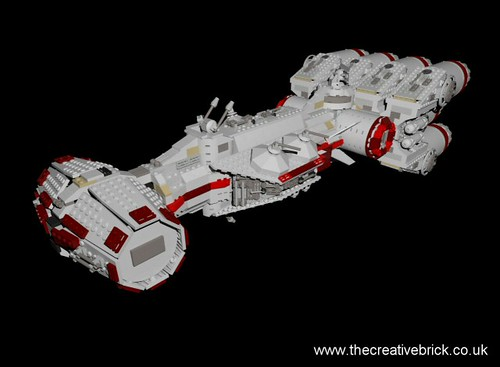 10019 Rebel Blockade Runner Virtual Build