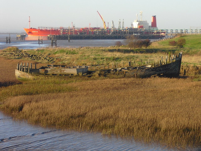 Saltend Ships - Old and New