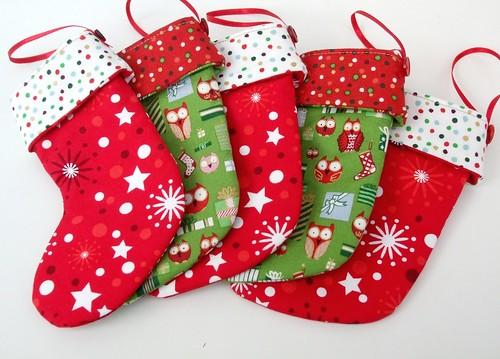 Christmas mini-stockings