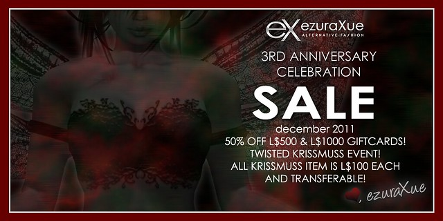 + eX + ezura Xue 3rd Anniversary Celebration