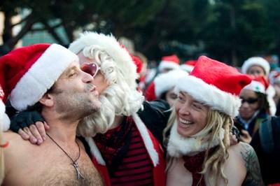 Naked Santas San Francisco