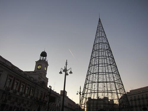 Puerta del Sol. Atardecer