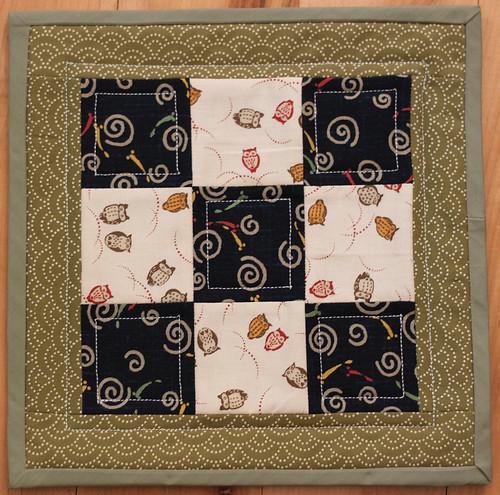 Mini Quilt Block - Front