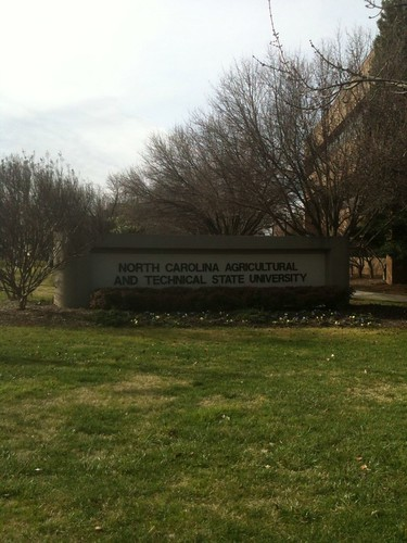 NORTH CAROLINA AGRICULTURAL AND TECHNICAL STATE UNIVERSITY by Greensboro NC
