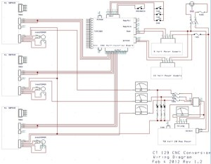 ct129 cnc conversion wiring diagram | Flickr  Photo Sharing!