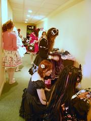 Busy Frilly Hallway
