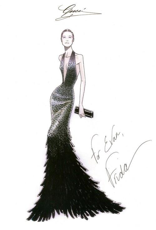 Evan Rachel Wood_Sketch for press