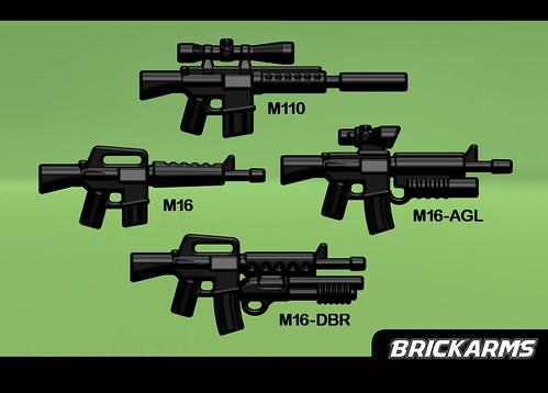 M16 Variants & M110