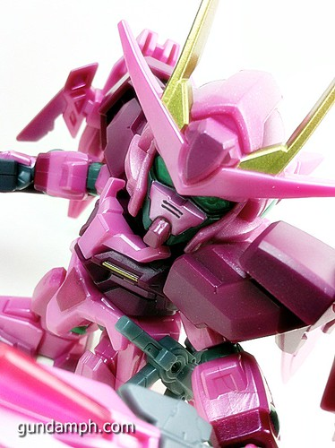 SD Gundam Online Capsule Fighter Trans Am 00 Raiser Rare Color Version Toy Figure Unboxing Review (51)