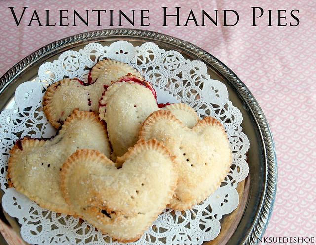 Valentine Hand pies