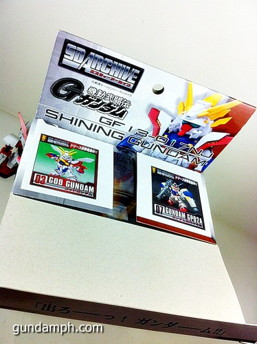 SD Archive Shining Gundam Unboxing Review (10)