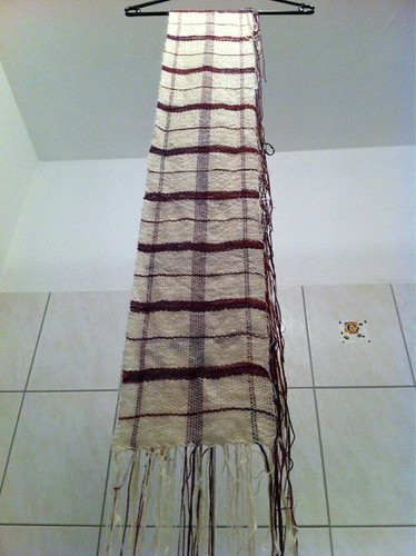 Plaid Scarf - 04.02.2012