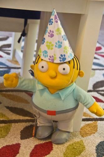 Ralph Wiggum isn't allowed to wear pointy hats