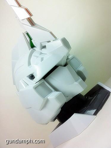 Banpresto Gundam Unicorn Head Display  Unboxing  Review (48)