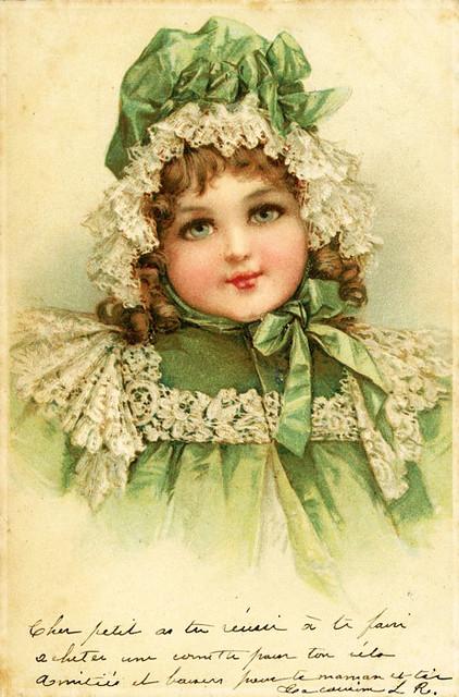 VictorianBabyPostcard