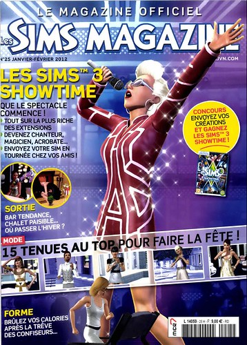 Les Sims Magazine - January Edition