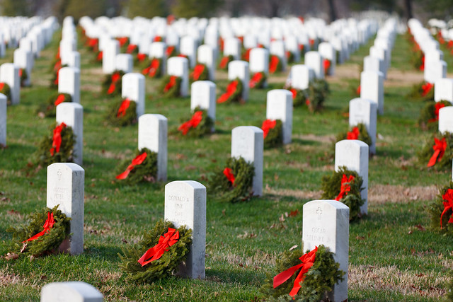Arlington National Cemetary wreaths