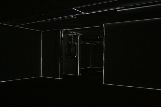 mayer+empl . HZ . interactive video mapping installation . munich . 2011